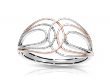 Onda_Silver-and-Rose-Gold_Bangle